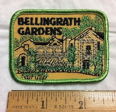 Bellingrath Gardens Mobile Alabama AL Souvenir Embroidered Patch