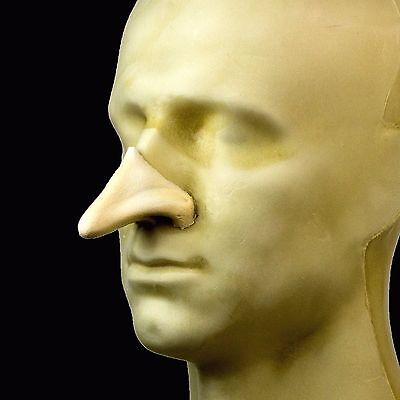 Rubber Wear Foam Latex Prosthetic - Large Cyrano Nose FRW-003 - Makeup FX