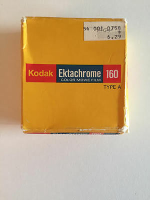 Kodak Ektachrome 160 Type A color movie film EXP 3/82