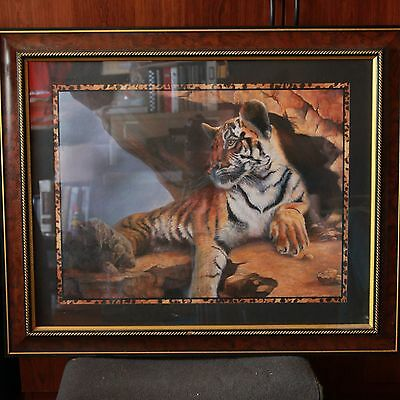 Tiger Safari Home Interior Painting: A Profile Of Magnificence - Designer Series
