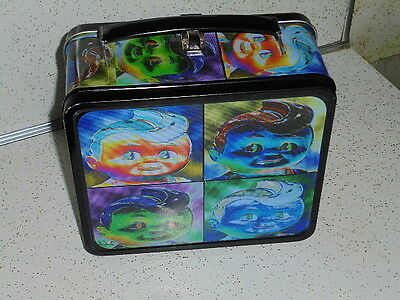 Metal Lunchbox Full Size (Big Boy) Roughly 6 7/8 X 8 X 3 3/4 Inches Not Incl Han