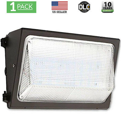 WALL PACK 50w Outdoor Lighting 5000K Cool White Industrial Commercial UL & DLC