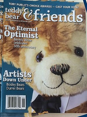 Teddy Bear And Friends Magazine June 2014 issue