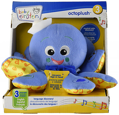 Baby Octoplush Musical Developmental Soft Plush Stuffed Infant Toy Colors Music