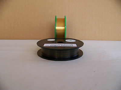"Gold Plated -Tungsten / Wolfram wire  0.0150 mm./ 0.0006""  -  10 m / 33 ft."