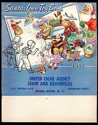 1955 CHRISTMAS TOY CATALOG Color Illustrated