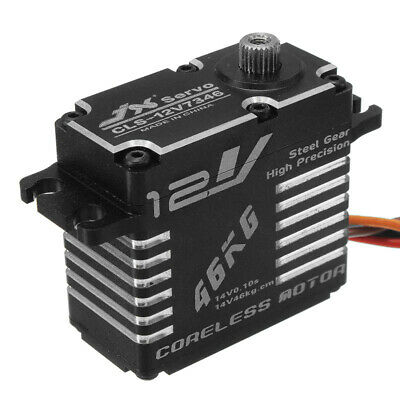 [NEW] JX CLS-HV7346MG 46KG HV High Precision Steel Gear Digital Coreless Servo