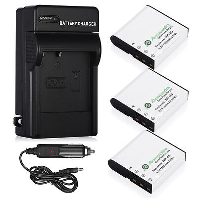 NP-40 Li-ion Battery Charger for Casio Exilim EX-Z1050 EX-Z1000 EX-Z750 Camera