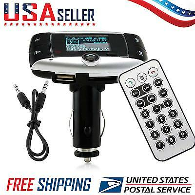 car kit mp3 player wireless fm transmitter modulator instructions