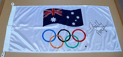 Sally Pearson The Wizard Of Oz   London Olympics  Signed Flag