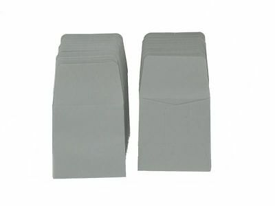 Guardhouse Grey Archival Paper Coin Envelopes, 2x2, 100 pack