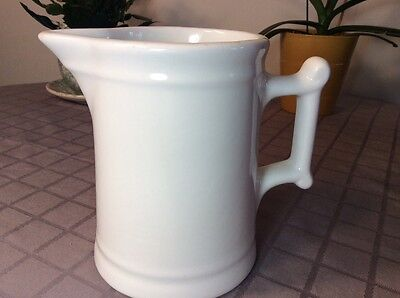 Antique BAILEY WALKER VITRIFIED CHINA 1937 COFFEE POT / PITCHER Restuarant wear
