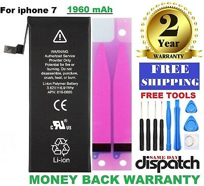 Fit For iPhone 7 Battery Replacement (1960mAh) FREE TOOL KIT (Brand Longlife)