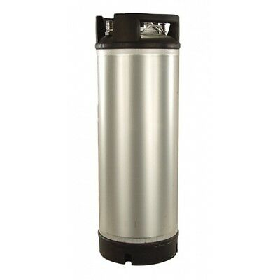 AEB Stainless Steel 5 Gallon Dual Rubber Foot / Handled Ball Lock Keg