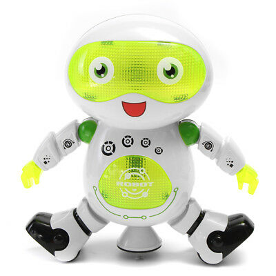 [NEW] LeZhou Smart Dancing Electronic Robot Toys With LED Music Light Gift For K