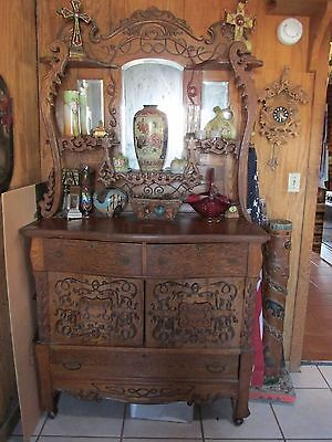 Jeane's Estate: Victorian Oak Sideboard