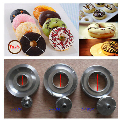 3 Sets Mold for T-101 Commercial Automatic Donut Maker Making Machine