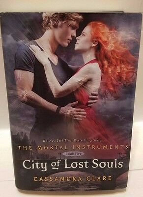 City Of Lost Souls The Mortal Instruments Book 5 Cassandra Clare Hard Back