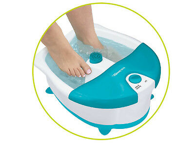 Foot Bath Spa Bubble Maker Feet Massager Relaxing Sole Stimulation Relief New