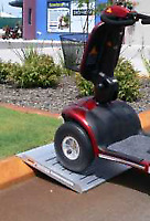 New Gutter-Curb Climber ramp 900 mm aged care equipment
