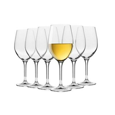 New Krosno Vinoteca 370ml Sauvignon Blanc Wine Glass - Set of 6