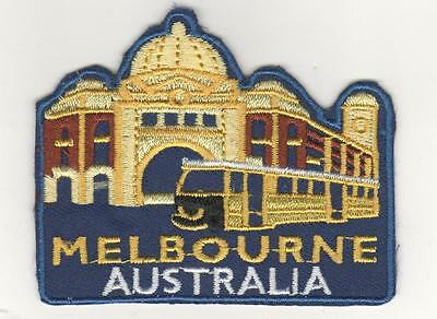 Melbourne  Australia  Iron On  Patch Buy We 2 Send 3 Of These