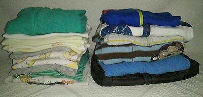 Baby boy's Toddler Clothes sz 1 Bundle Mixed Pieces 23 items