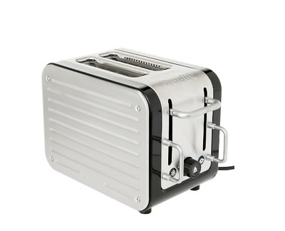 NEW Dualit  Architect 2 Slot Toaster: Brushed Stainless Steel: DU26580