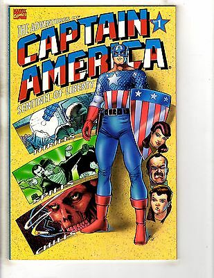 Captain America Sentinel Of Liberty Complete Marvel Comics Series # 1 2 3 4 J253