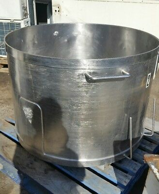 Large High Stock Pot without Lid Diameter 104cm 75cm 6mm stainless steel 500L