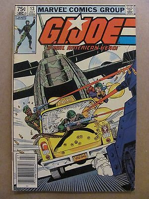 GI Joe A Real American Hero #13 Marvel 1982 Canadian Newsstand $0.75 Variant