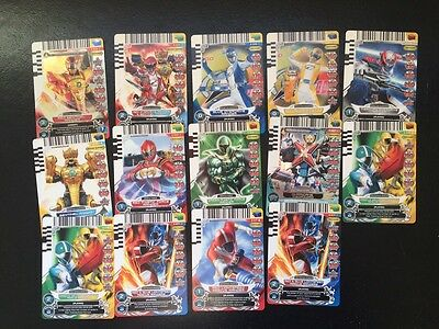 Power Rangers ACG Assorted Lot of Cards Super Rare