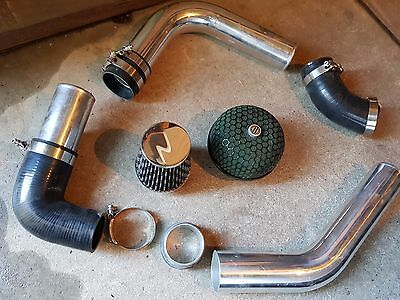 VW Golf MK5 cold air induction piping