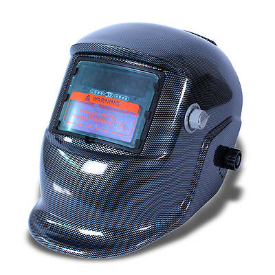 Plaid Auto Darkening Solar  Welding Helmet Mask with Grinding Function #2 AC