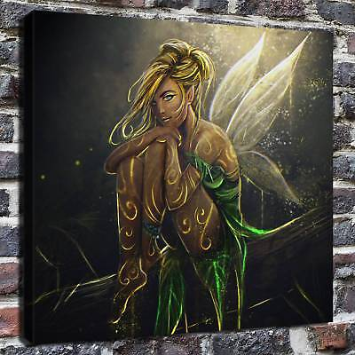 """Disney TinkerBell HD Canvas Print 24""""x24"""" Home Decor Paintings Wall Art Pictures"""