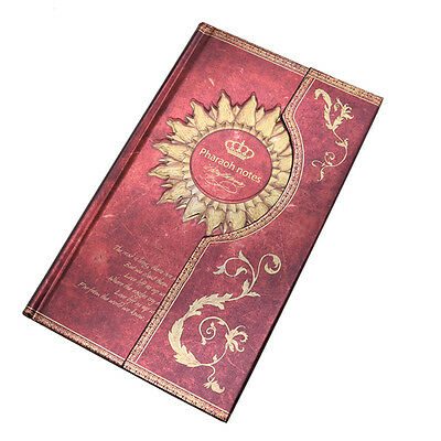 Vintage Classic Retro Leather Journal Travel Notepad Notebook Blank Diary AU