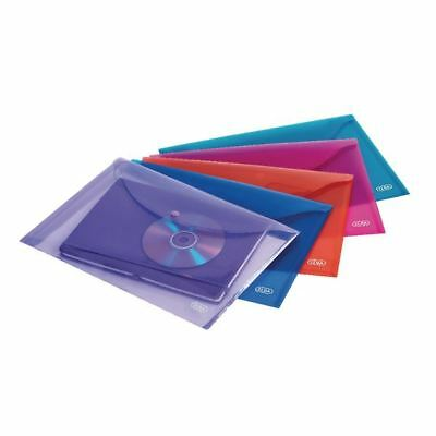 Elba A4 Assorted Snap Wallet Pack of 5 100201306 [BX70010]