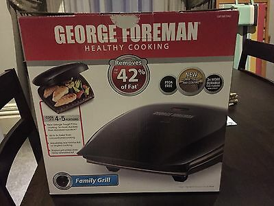 George Foreman Grill - new in box - opened but unused