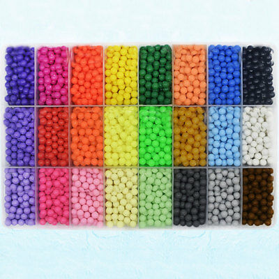 Water Stick DIY Magic Beads Puzzle Mixed Color Toy Gifts Fun 3000PSC/Bag