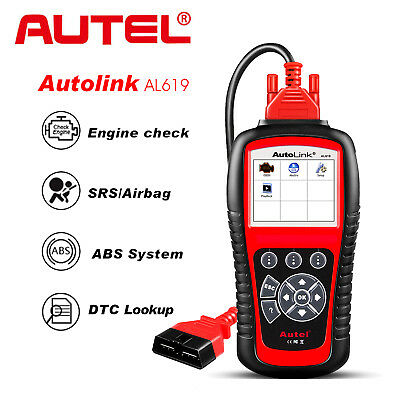 Autel ML629 OBD2 Auto Diagnostic Tool ABS Airbag Engine AT Code Reader Scanner