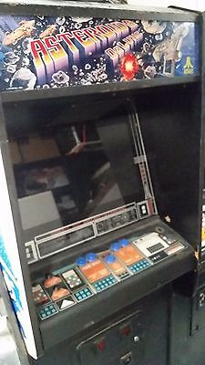 LOCAL ONLY Vintage Vector Graphics Full Dedicated Asteroids Deluxe Arcade Game