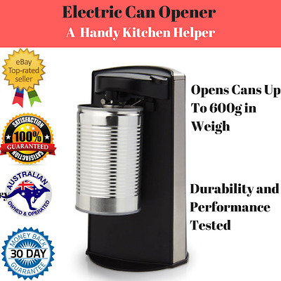Electric Can Opener Integrated Bottle Build-In Magnet Automatic Hands Free