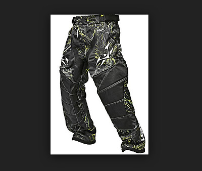 Valken Crusade Pant Static Yellow XXL  Paintball  Schutzkleidung