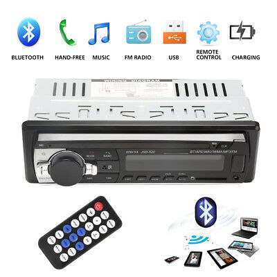 1 DIN Autoradio Android Bluetooth Stereo Audio Player FM Aux SD USB MP3 HOT