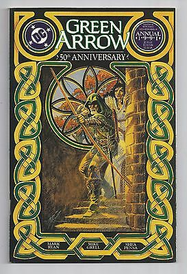 Green Arrow Annual #4 1991 : Near Mint 9.4 : First Print : 50th Anniversary