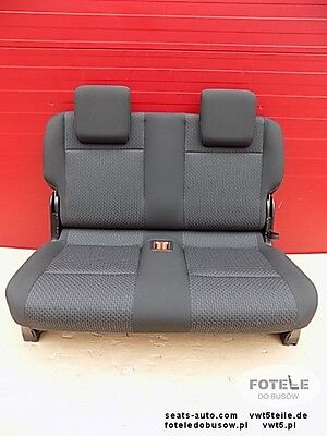 Seat rear bench double VW Caddy MAXI third row NEW!