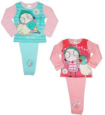 Girls Sarah and Duck Pyjamas 18 Months to 5 Years