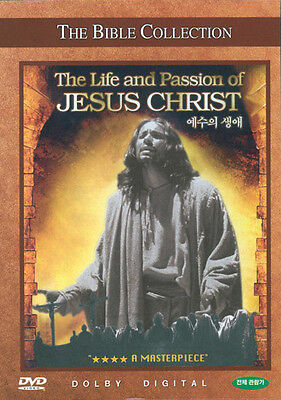 The Life and Passion of Jesus Christ - The Bible Collection (DVD,All,Sealed,New
