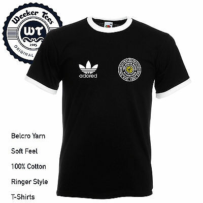 Stone Roses Adored Football Ringer Retro Style T-Shirt - All Sizes - 6 Colours