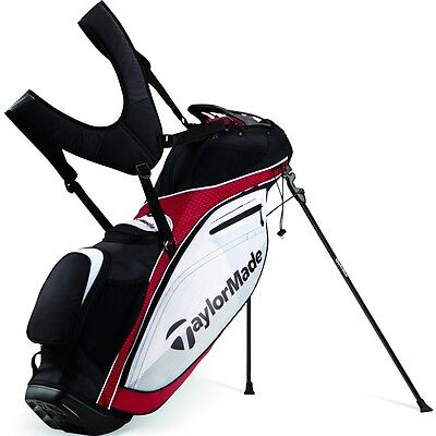 New TaylorMade Tour Lite Stand Bag 2016 Model Red/White/Black